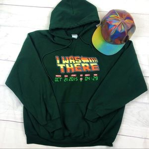 Back To The Future I Was There Hoodie Sweatshirt